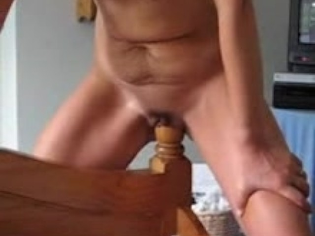 sexy girl in thongs fucked hard froggy style