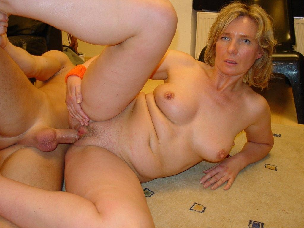 Old amateur fucked