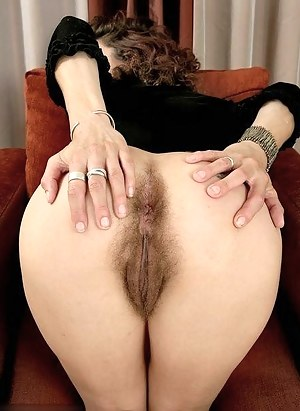 Hairy vagina from behind